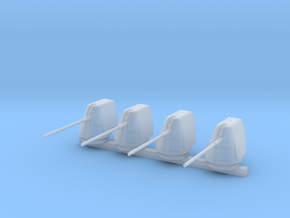 1/300 Scale 5 In 54 Cal Mk 45 Naval Gun Set Of 4 in Frosted Ultra Detail