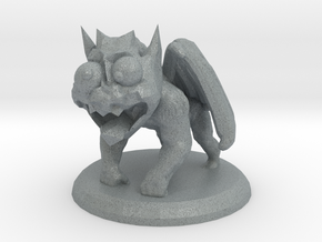 STONY THE GARGOYLE in Polished Metallic Plastic