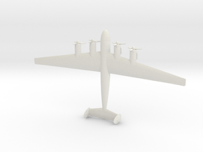 1:200 Me-264  in White Natural Versatile Plastic