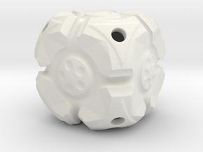 Looper D6 in White Natural Versatile Plastic