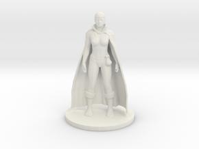 Human Wizard - Female in White Natural Versatile Plastic