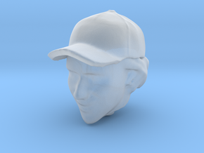 1/20 Senna Head in Cap in Frosted Ultra Detail