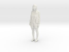 Printle C Femme 385 - 1/87 - wob in White Natural Versatile Plastic