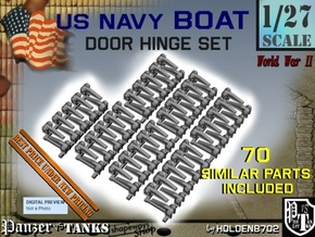 1-27 USN Hinge 70 Units in Smooth Fine Detail Plastic