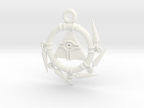 Millennium Ring - Yu-gi-oh! in White Processed Versatile Plastic