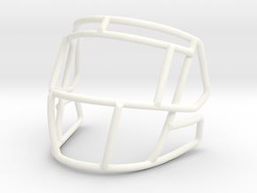 Live Mask S2EG-SW-SP for mini speed helmets in White Processed Versatile Plastic