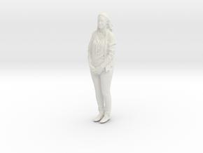 Printle C Femme 409 - 1/87 - wob in White Natural Versatile Plastic