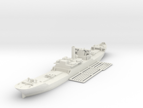 EFC 1013 WW1 freighter Various Scales in White Natural Versatile Plastic: 1:600
