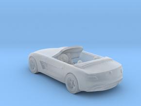 Mercedes AMG    1:120  TT in Smooth Fine Detail Plastic
