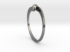 Game Changer Ring in Polished Silver