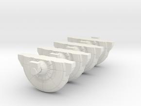 Shield Generator 1/144 scale in White Natural Versatile Plastic