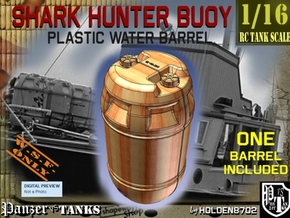 1-16 Shark Hunter Barrel in Yellow Processed Versatile Plastic