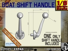 1-6 Shift Handle For Boat in Polished Nickel Steel