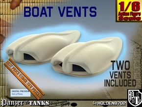 1-6 Boat Vent 2 For FUD in Smooth Fine Detail Plastic
