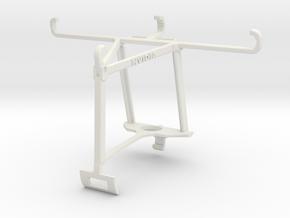 Controller mount for Xbox One S & Posh Optima LTE  in White Natural Versatile Plastic