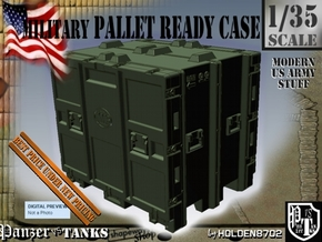 1-35 MM08 Pallet Ready Case in Green Processed Versatile Plastic