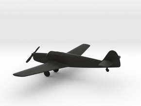 Messerschmitt Bf 108 Taifun in Black Natural Versatile Plastic: 1:96