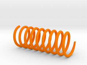 Spring in Orange Processed Versatile Plastic
