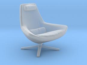 Miniature Metropolitan Armchair - Jeffrey Bernett in Smooth Fine Detail Plastic: 1:24