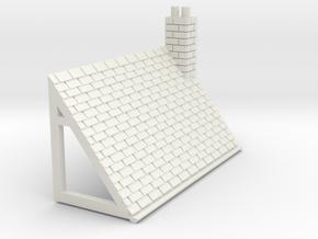 Z-152-lr-comp-stone-t-house-roof-rc-lj in White Natural Versatile Plastic