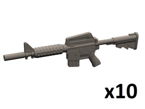 1/35 CAR-15 carbine in Frosted Extreme Detail