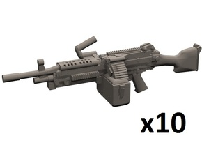 1/35 M249 machine gun in Frosted Extreme Detail