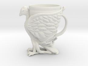 The Phoenix Mug in White Natural Versatile Plastic: Small
