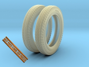 1-24 Tire 400x15 HW Set in Frosted Ultra Detail