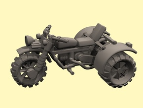 """28mm """"Persistent"""" trike  in Smooth Fine Detail Plastic"""