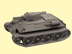 28mm TR-34 Exterminator tank in White Strong & Flexible