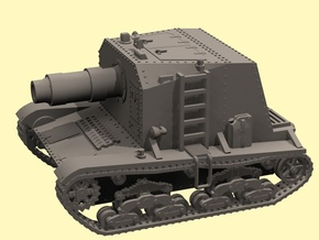 28mm M133 Self-propelled Siege Mortar (Wk6 based) in White Strong & Flexible