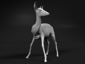 Impala 1:25 Watchful Female While Drinking in White Natural Versatile Plastic