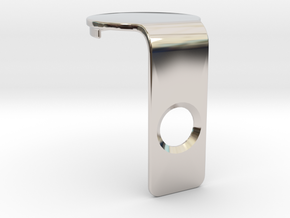 Canary 1 IR LED Cover in Rhodium Plated Brass