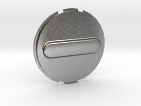Canary 1 Privacy Cover Lens Cap in Raw Silver