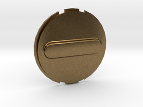Canary 1 Privacy Cover Lens Cap in Natural Bronze