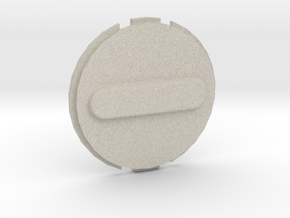 Canary 1 Privacy Cover Lens Cap in Natural Sandstone