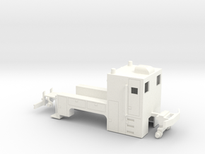 MOW Truck 1-87 HO Scale (Stationary) in White Processed Versatile Plastic