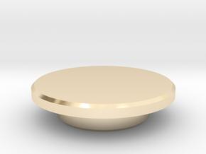 Fidget Spinner Caps in 14K Yellow Gold