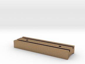 Starkiller Box V1 in Natural Brass
