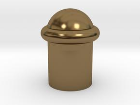 砲彈燈 in Polished Bronze