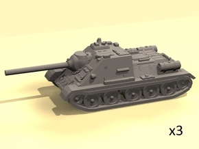1/220 SU-85 in Frosted Ultra Detail