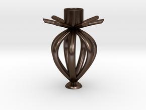 花苞意象 in Polished Bronze Steel: Small