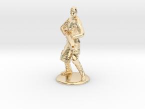 Jaffa Firing Staff 35 mm new in 14k Gold Plated Brass