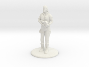 SG Female Standing 35 mm new in White Natural Versatile Plastic