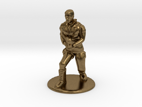 SG Male Soldier Creeping 35 mm new in Natural Bronze
