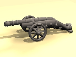 Spanish Cannon - downloadable in Smooth Fine Detail Plastic