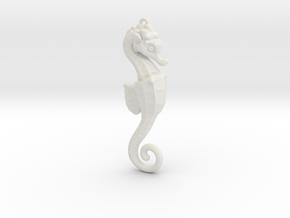 Seahorse in White Strong & Flexible