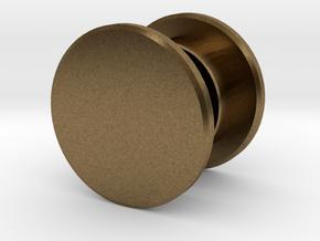 Fidget Spinner Tourus Center Caps in Natural Bronze