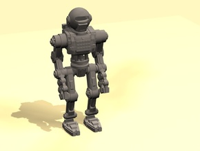 28mm Robot 2 testing in Smoothest Fine Detail Plastic