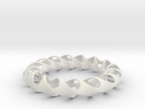 GAMMA in White Natural Versatile Plastic: Large